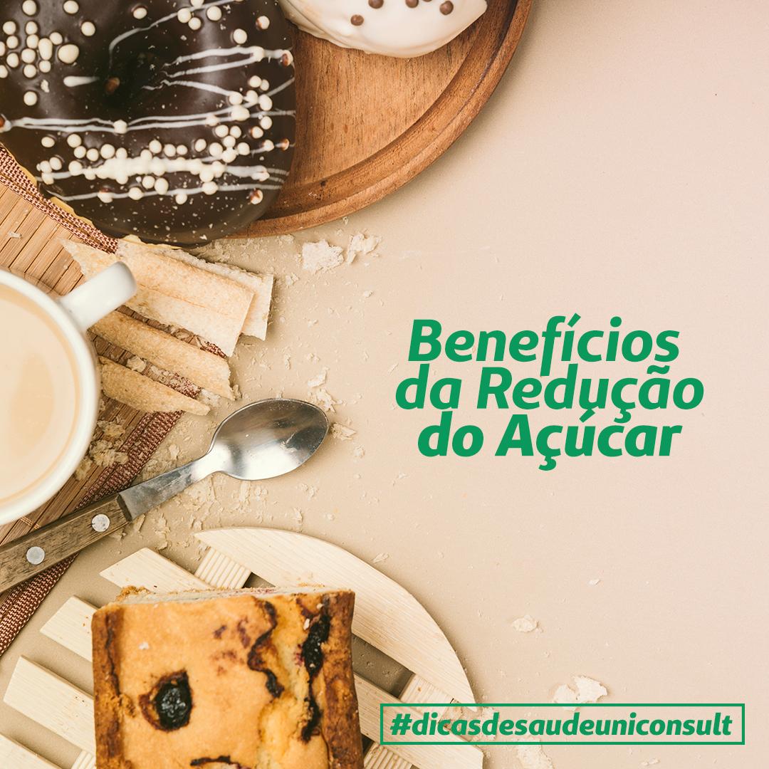 Benefícios da Redução do Açúcar