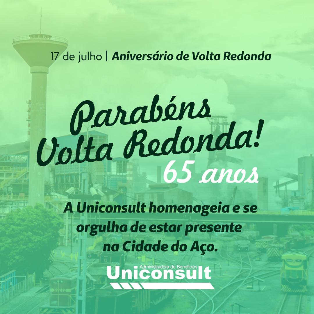 Volta Redonda – 65 anos
