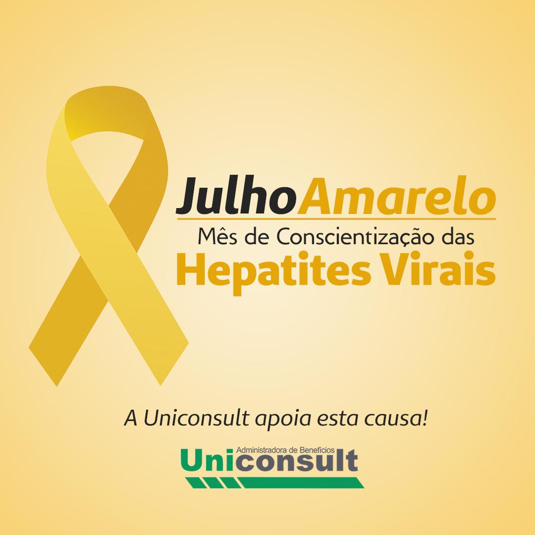 Julho Amarelo – Mês do combate às hepatites virais