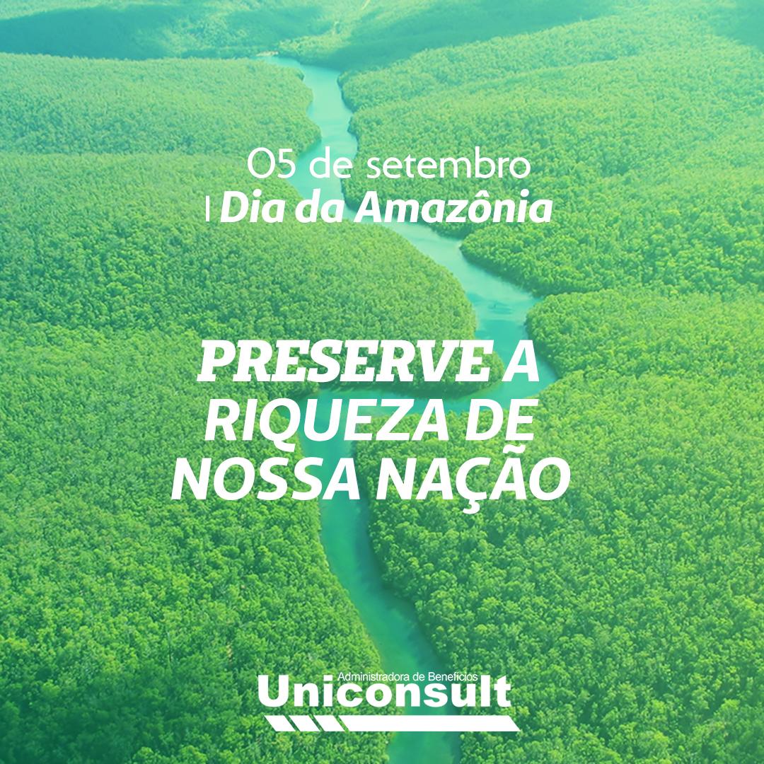 05 de Setembro – Dia da Amazônia