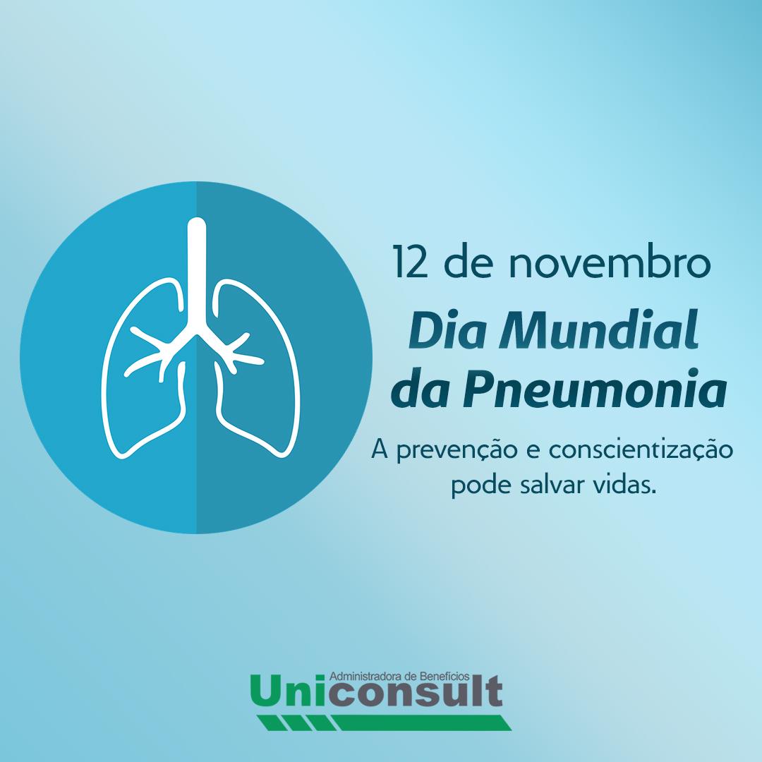 12 de Novembro – Dia Mundial da Pneumonia