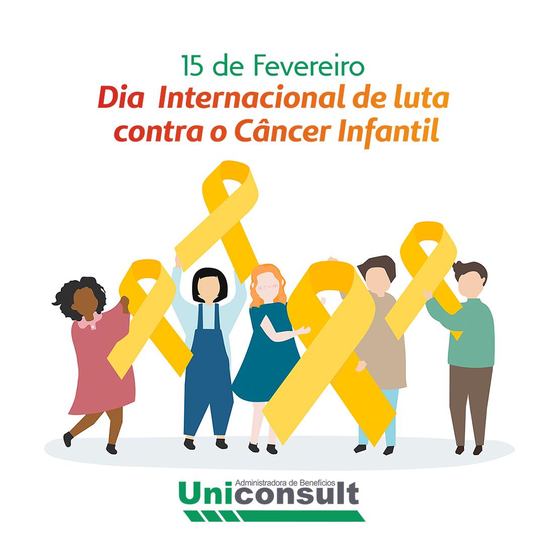 15 de Fevereiro – Dia Internacional na Luta contra o Câncer Infantil