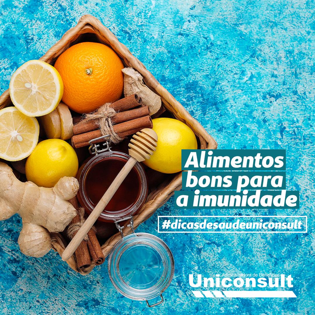 Alimentos bons para a imunidade